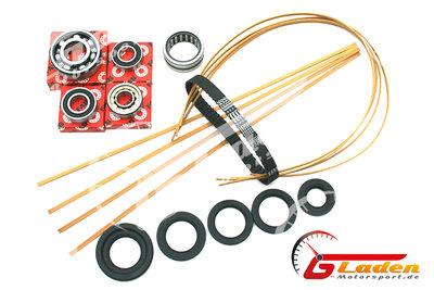 Full Service-Kit G40 Sintimid Apex strips (beige) Gladen Motorsport® Oilseals