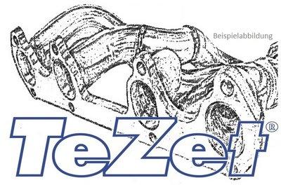 Original TeZet Fächerkrümmer VW Golf II 16V mit Kat.