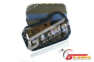 Gladen-Motorsport.de Aluminium Ölwanne + Ölhobel 827er Block