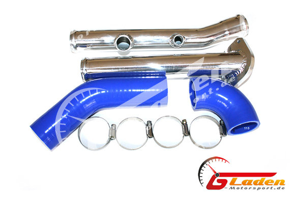 VW Polo G40 Supercharged Performance Boost Pipe Tube Polished Aluminium